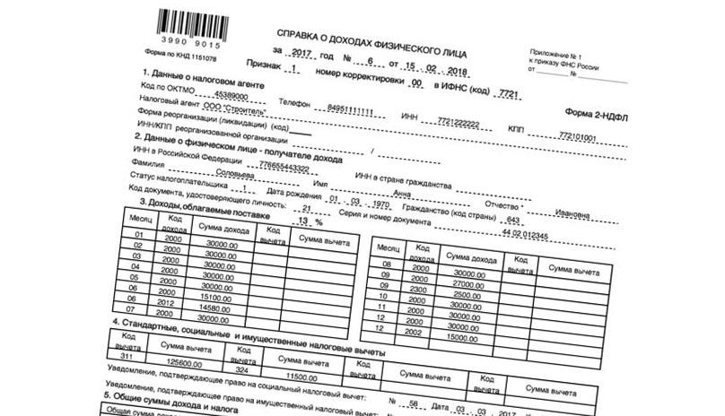Купить справку о доходах в Юникредитбанк Москва