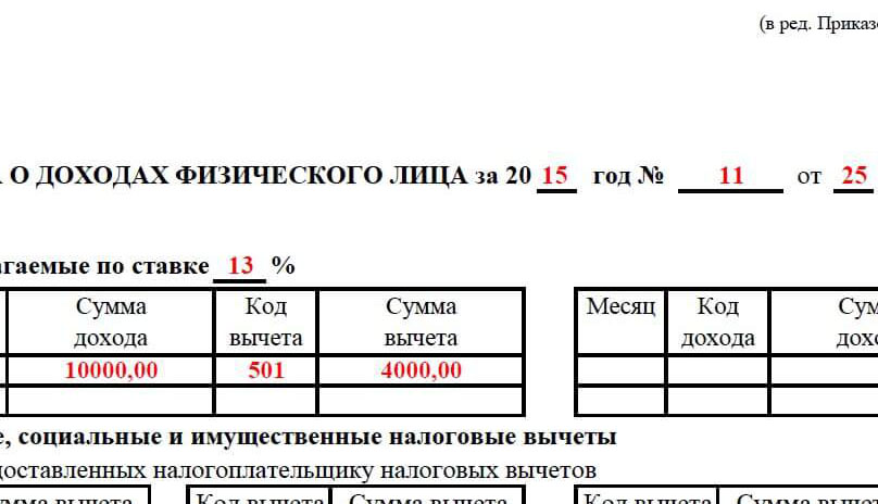 Срок действия справки 2 НДФЛ для кредита в Москве